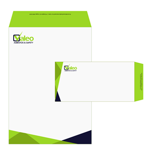 Elegant, Playful Envelope Design for Valeo Asbestos & Safety by ...