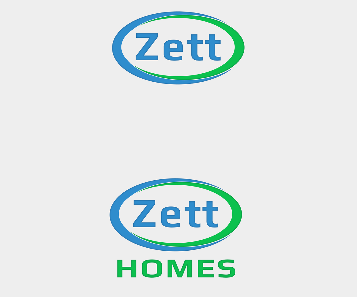 Exklusiv Professionell Home Builder Logo Design For Zett