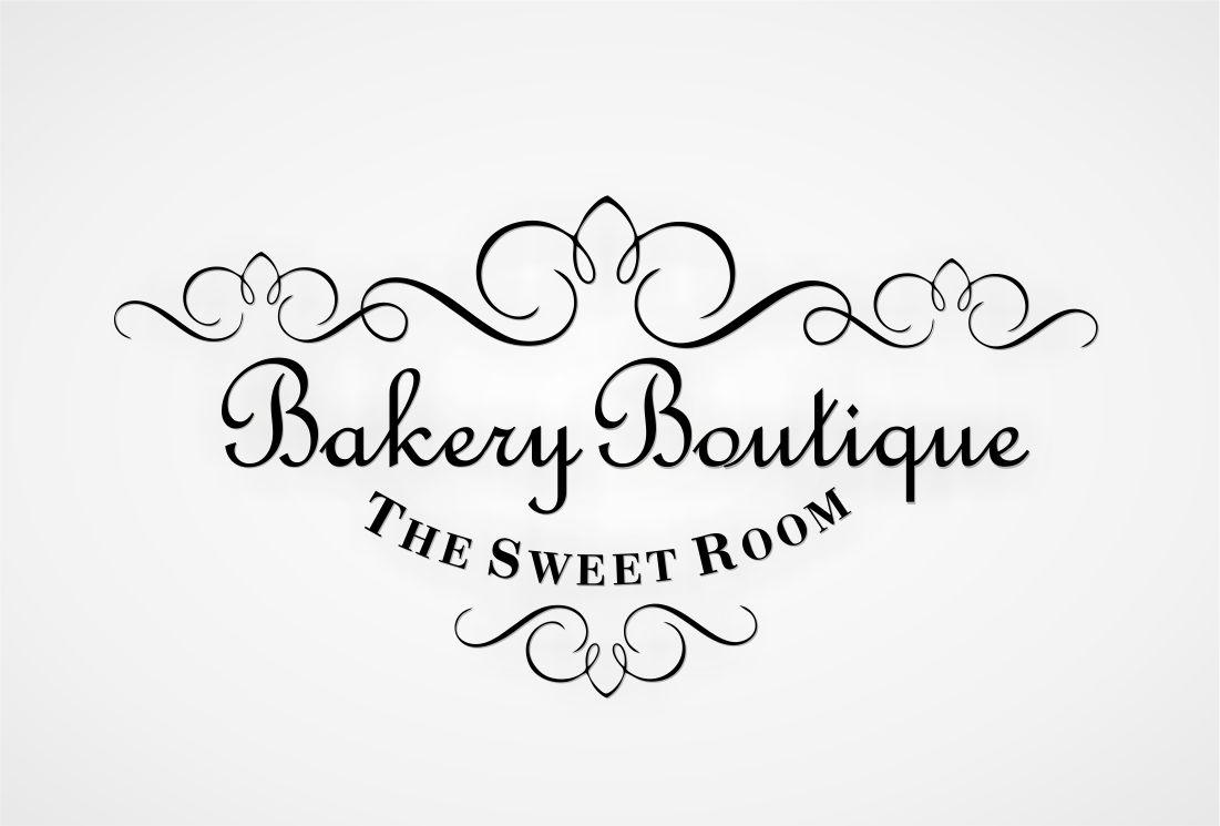 Elegant Serious Logo Design For The Sweet Room Bakery