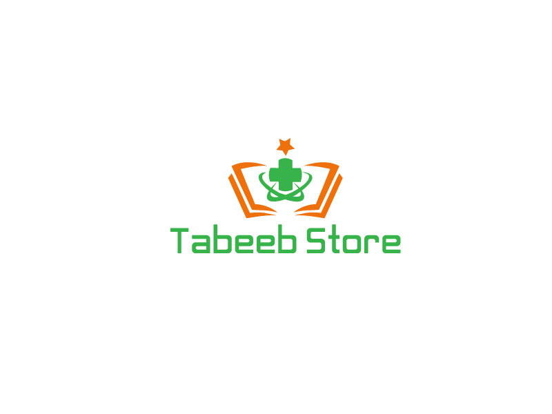 Colorful Elegant Medical Logo Design For Tabeeb Store By