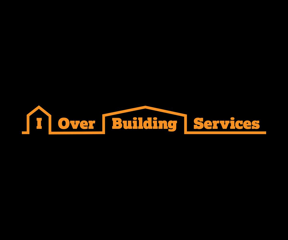 Bold modern residential construction logo design for i for Building services design