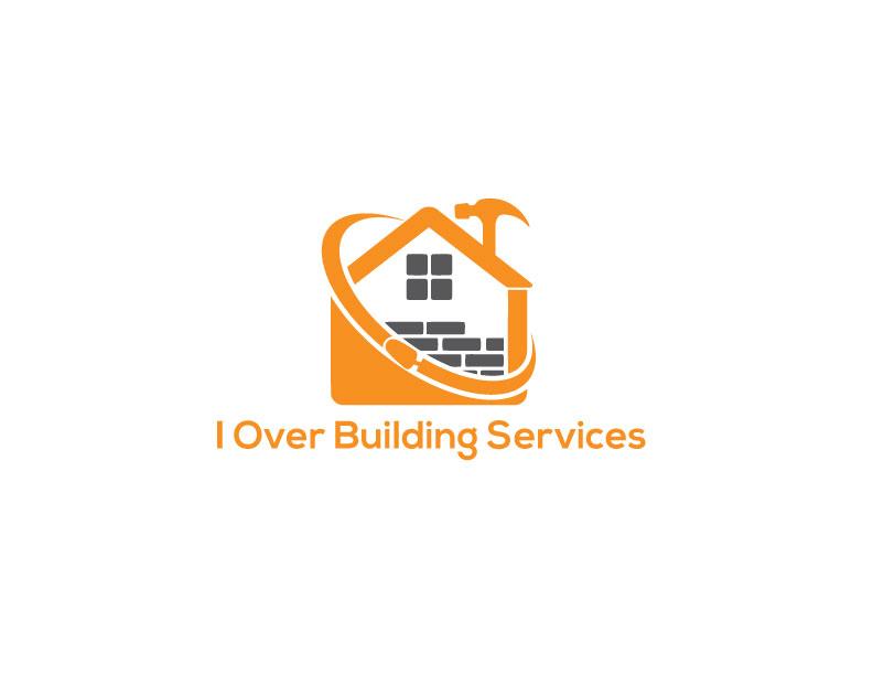Bold modern logo design for i over building services by for Modern design building services