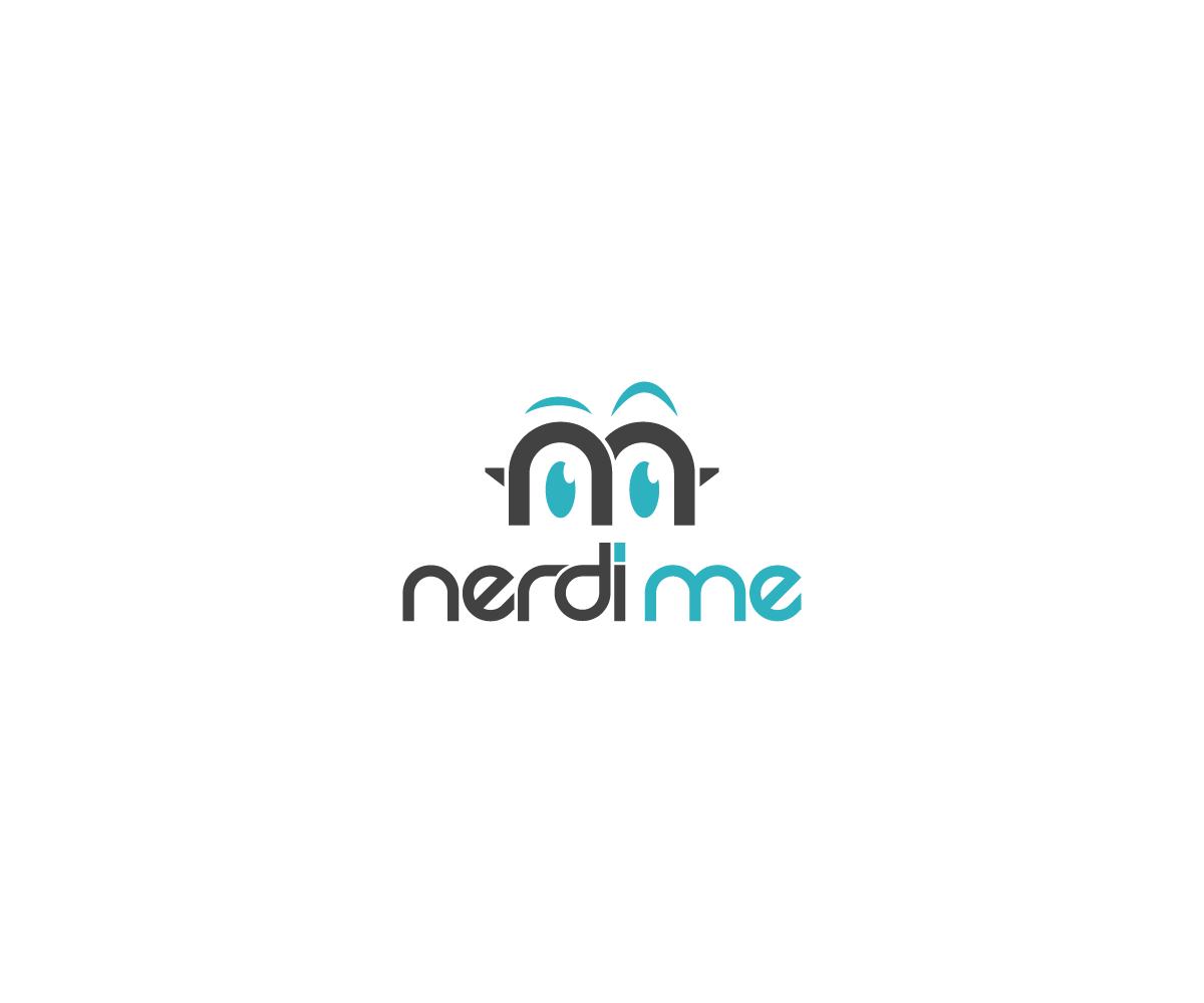 Playful Modern Logo Design For Nerdi Me Llc By