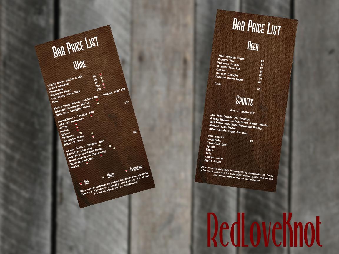 15 upmarket menu designs events menu design project for hudson design