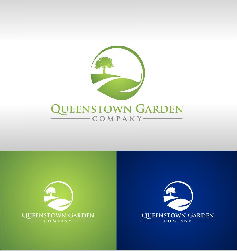 Bold serious landscape gardening logo design for for Garden design queenstown