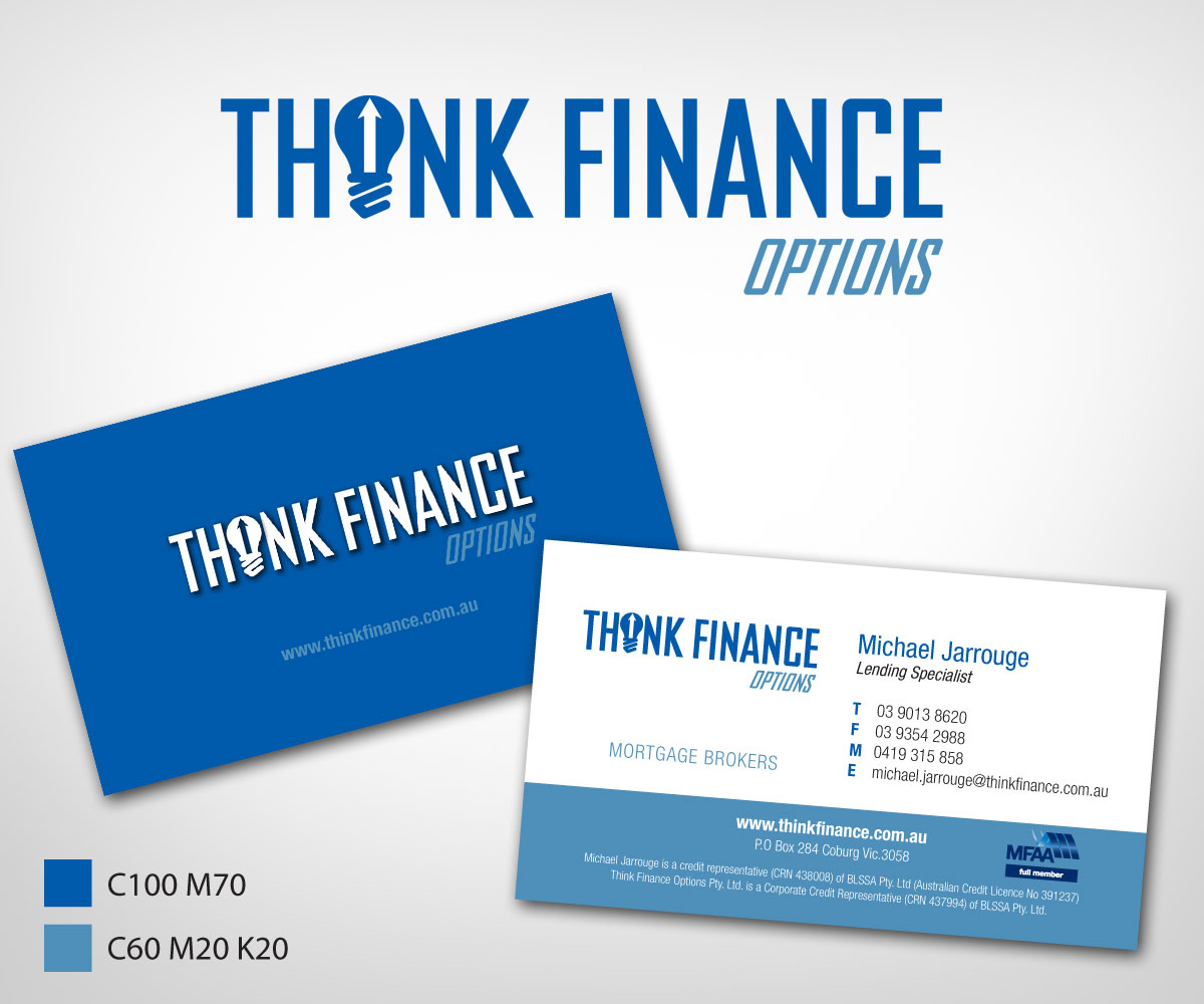 Elegant, Playful, Finance Business Card Design for a Company by Khoo ...