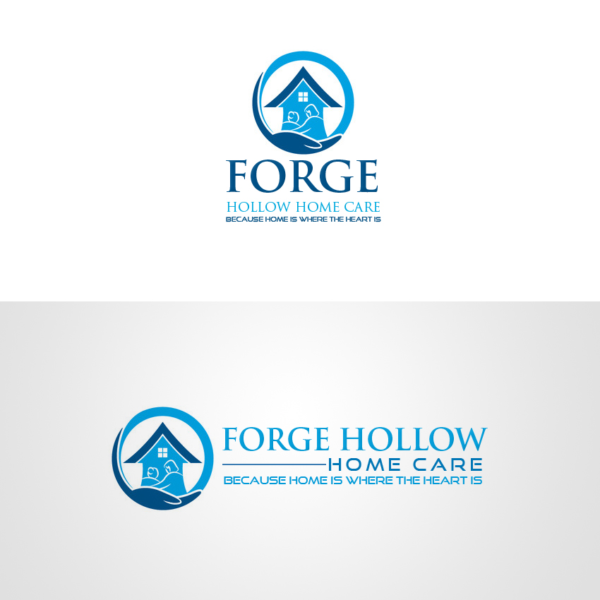 Serious Professional Home Health Care Logo Design For Forge Hollow Home Care By Anshika Design