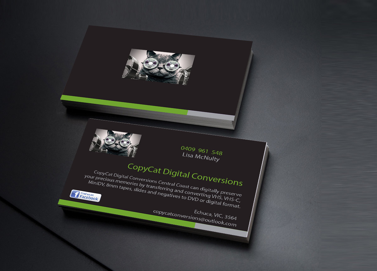 Professional bold digital business card design for a company by business card design by creations box 2015 for this project design 7151589 reheart Images