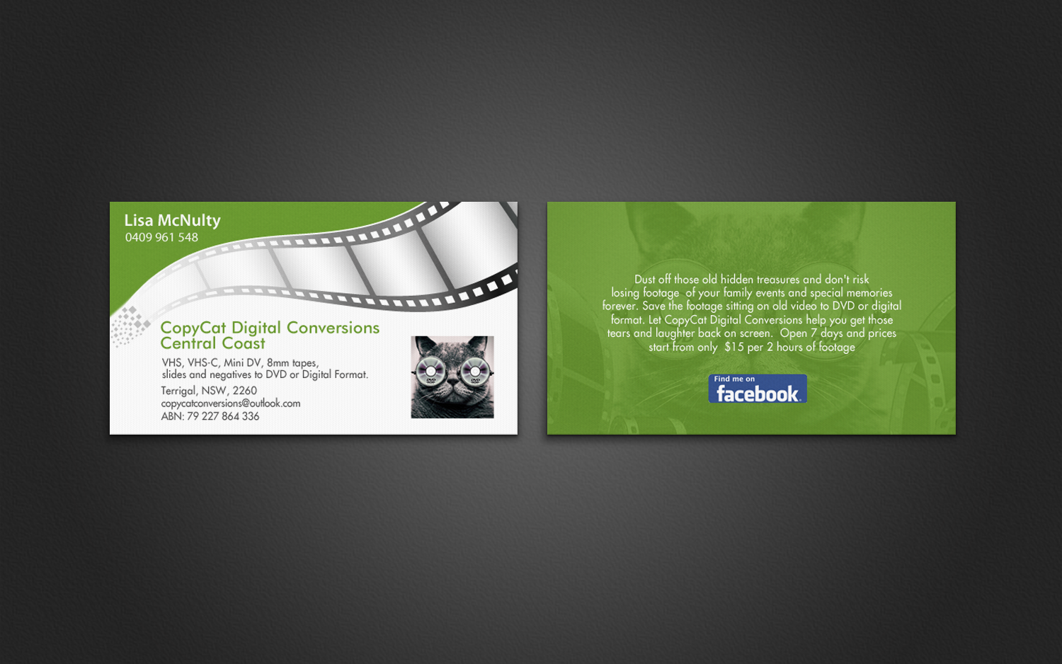 Professional bold digital business card design for a company by business card design by chandrayaaneative for this project design 7193724 reheart Gallery
