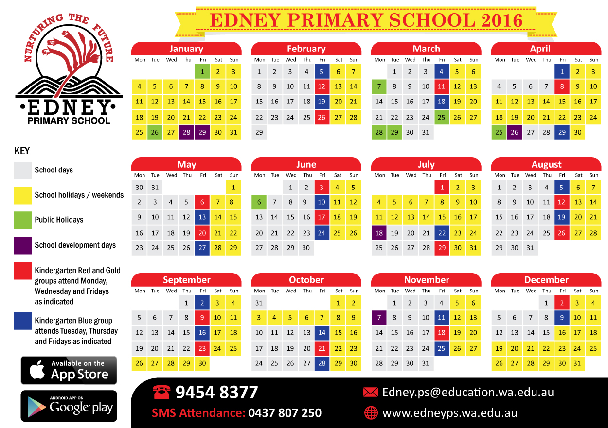 Calendar Design For School : Bold modern education calendar design for a company by