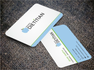 nutrition business card design galleries for inspiration