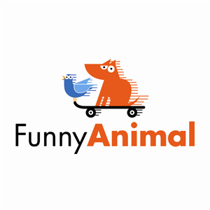 Logo Design by Irina Makedonska - Funny Animal Photo and Video Website Logo