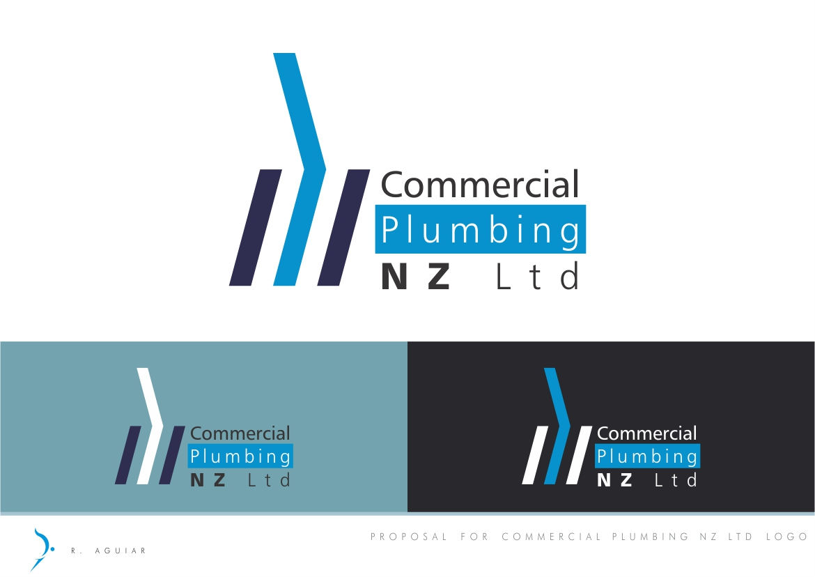 It company logo design for commercial plumbing nz ltd by for Commercial design companies