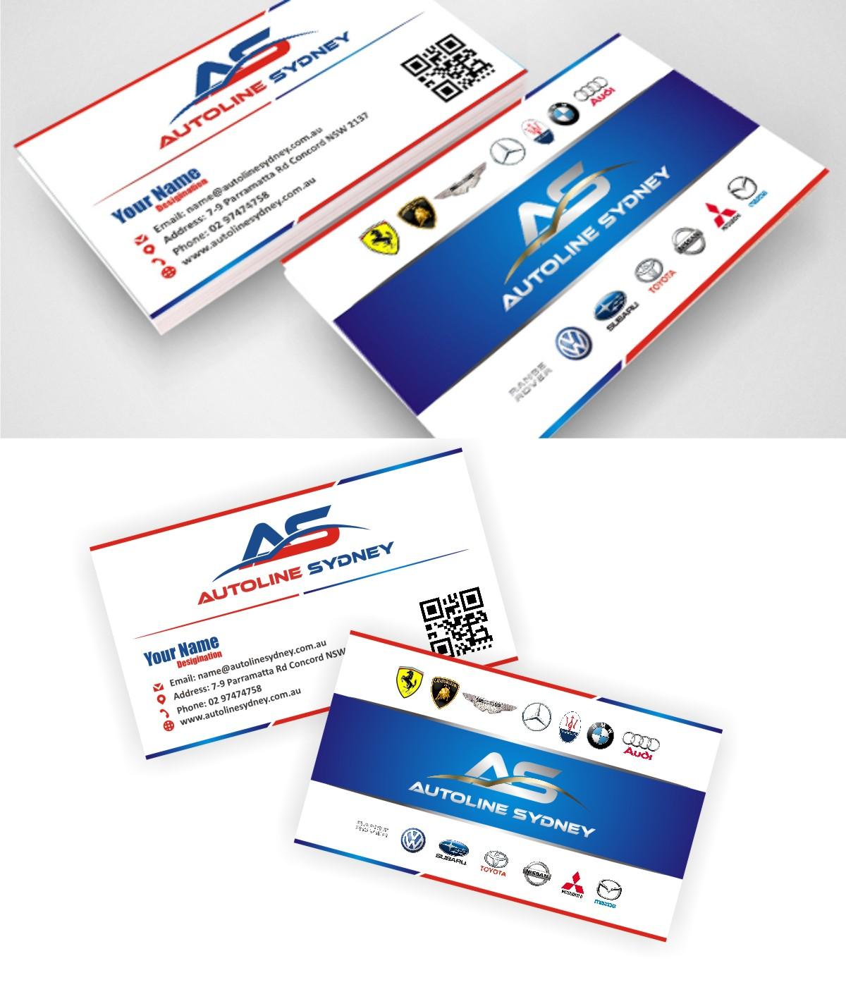 Professional, Upmarket Business Card Design for Nicholas Agar by ...