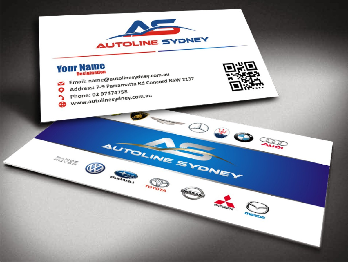 Professional, Upmarket, Automotive Business Card Design for a ...