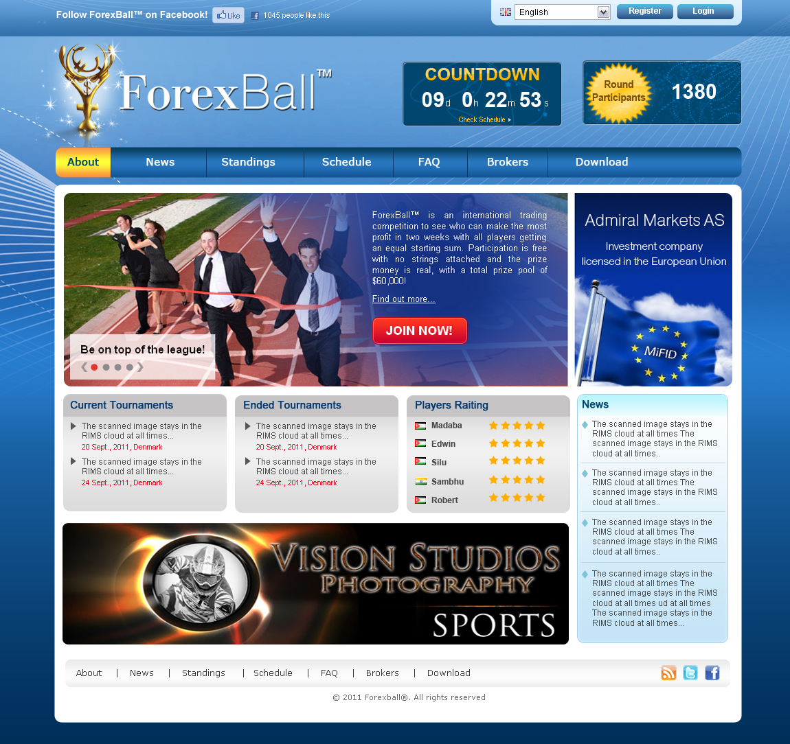 Forexball facebook layouts forex system backtesting