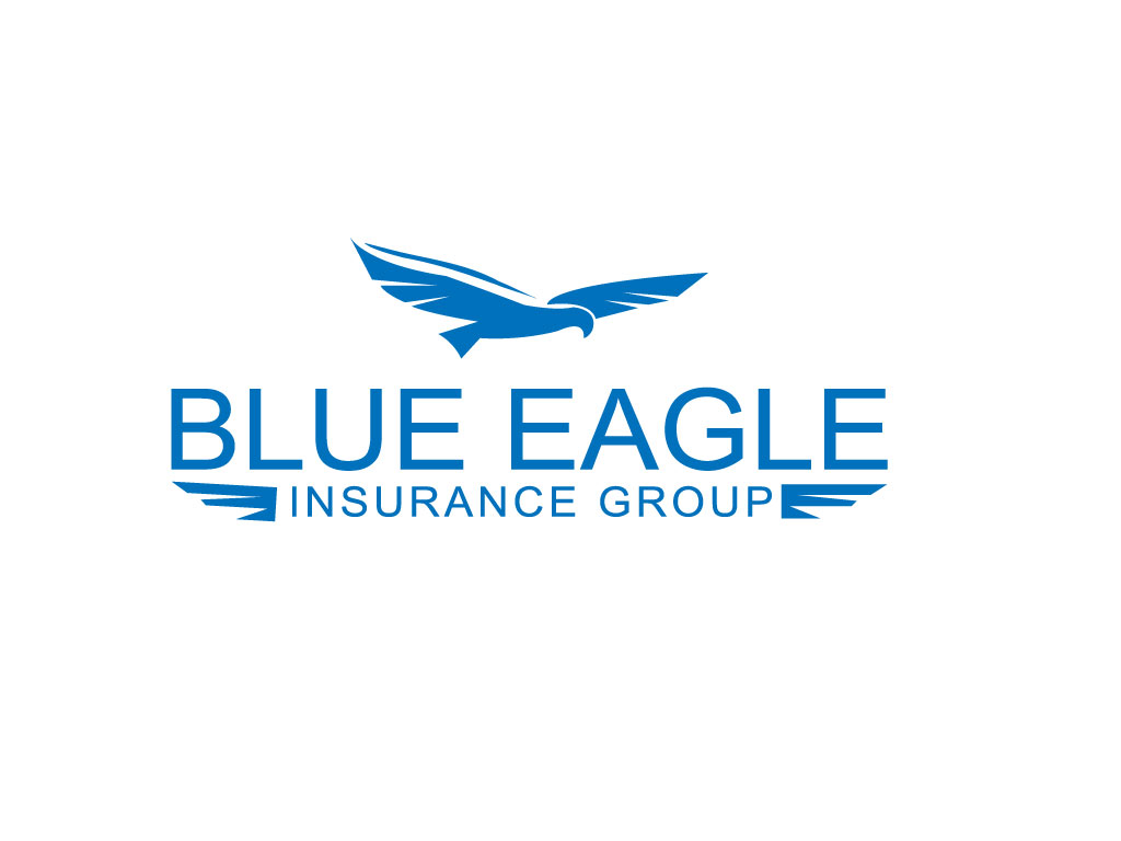 Blue eagle logo company