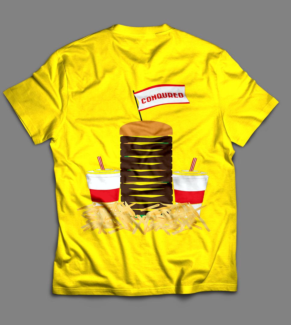 33 playful professional restaurant t shirt designs for a for Restaurant t shirt ideas