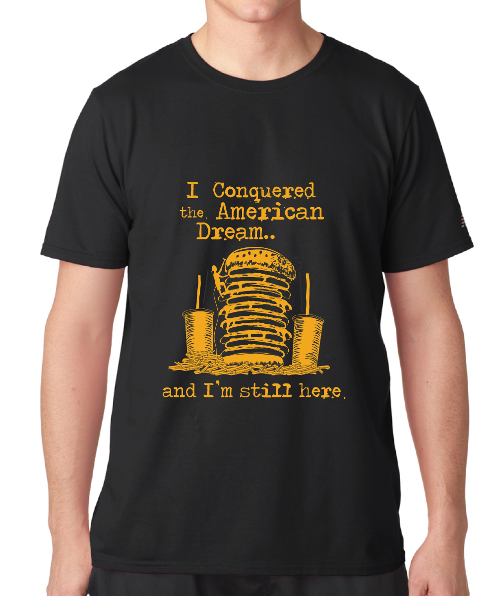 Playful Professional Fast Food Restaurant T Shirt Design