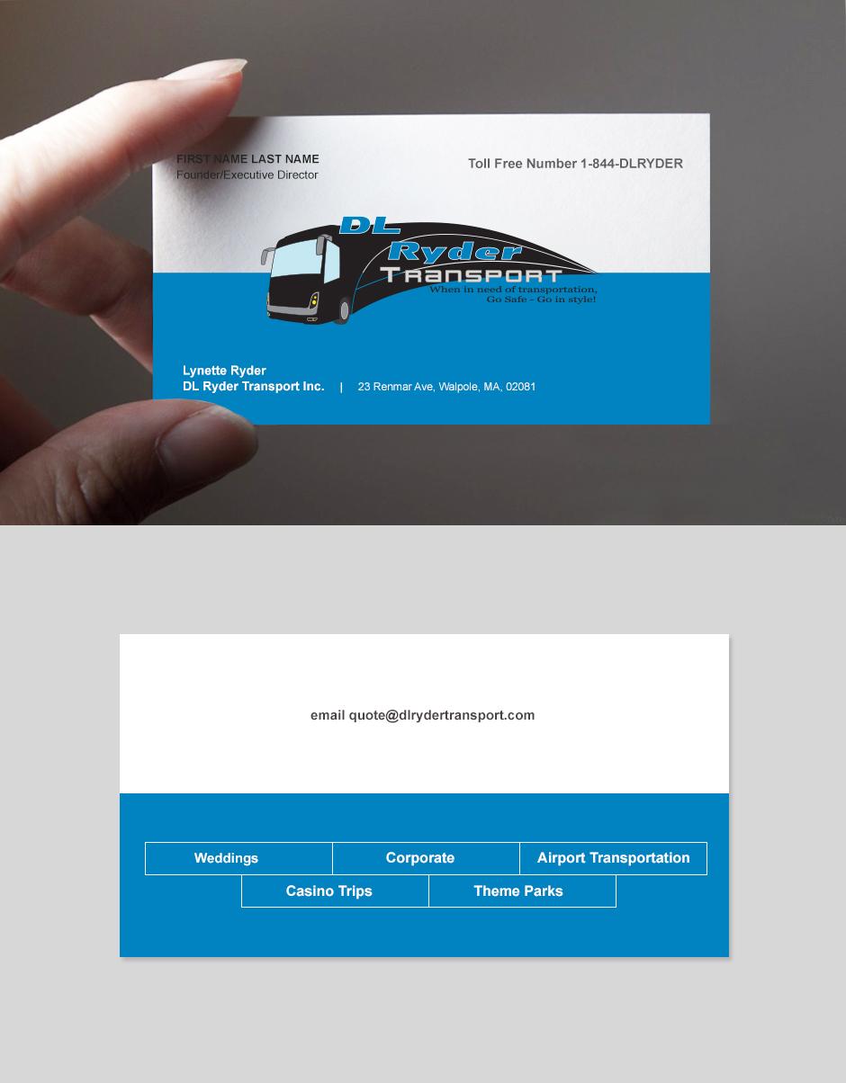 Elegant Playful Business Business Card Design For Dl Ryder