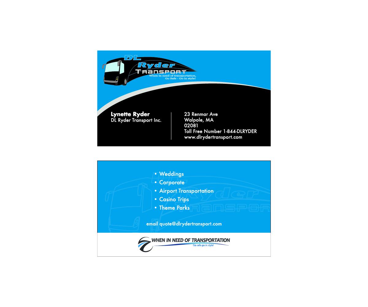 Elegant, Playful, Business Business Card Design for DL Ryder ...