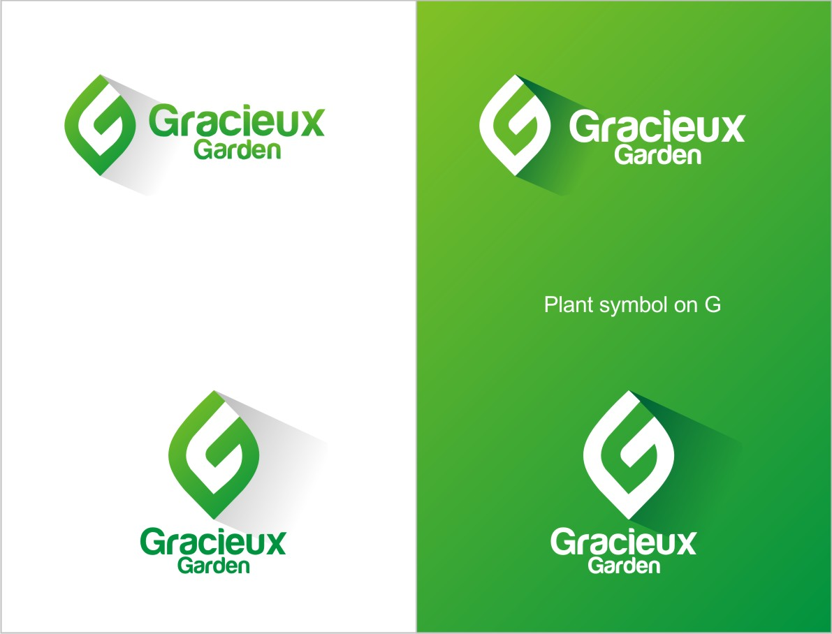 Logo Design By Maxman For Gracieux Garden Is A New Company In Need Of A  Unique