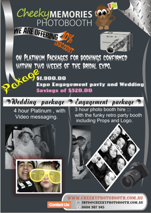 Flyer for Photo booth business for wedding expo | 9 Flyer