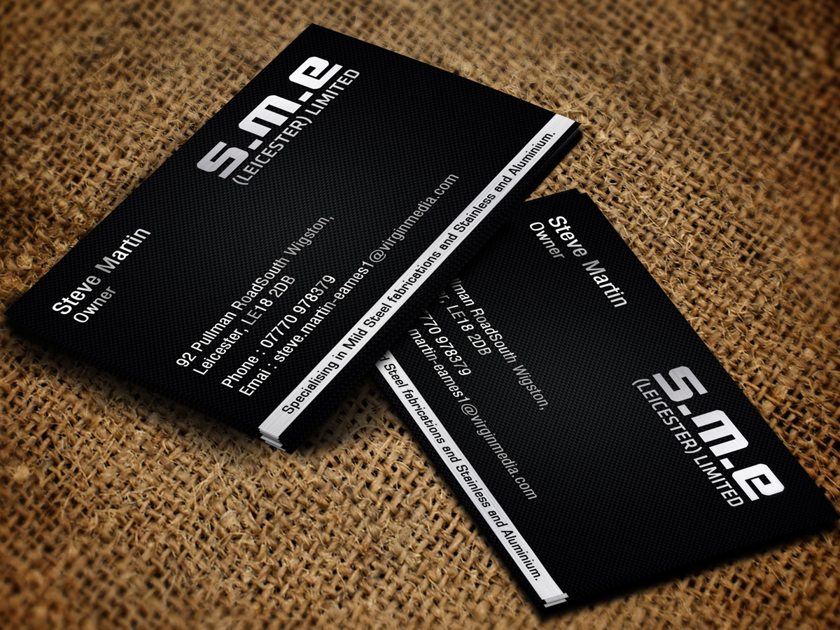 Serious modern business card design for steve martin eames by business card design by sandaruwan for sme leicester limited business card design design magicingreecefo Choice Image