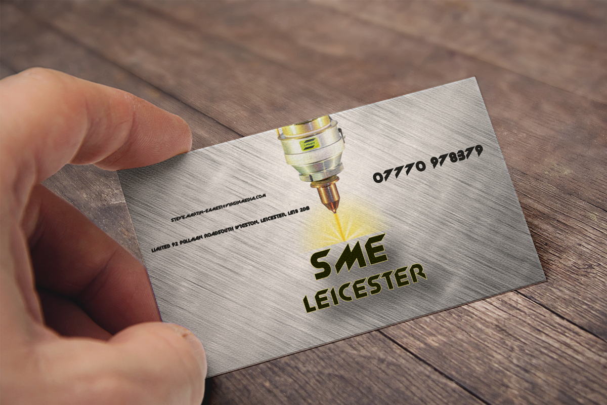 Serious modern business card design for steve martin eames by art business card design by art vision for sme leicester limited business card design magicingreecefo Choice Image
