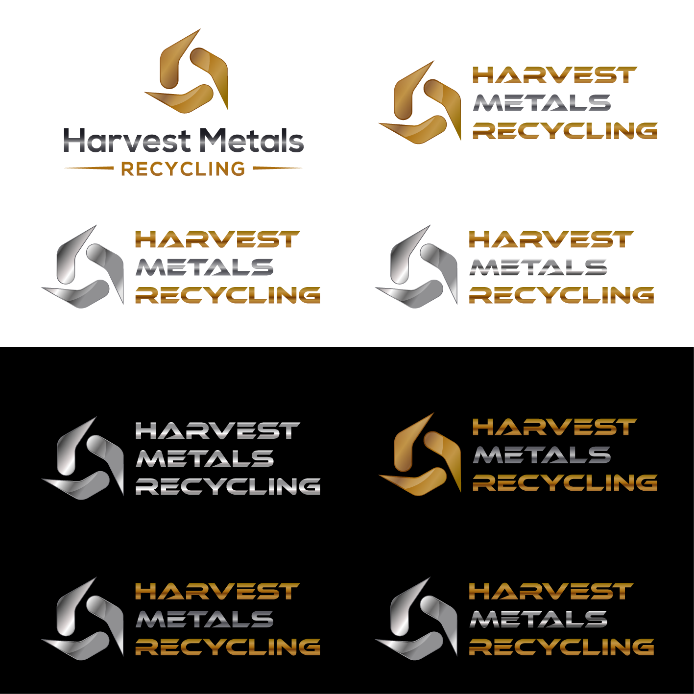 Elegant Playful Health Poster Design For A Company By: Elegant, Playful, Recycling Logo Design For Harvest Metals