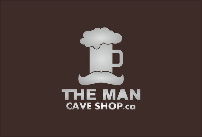 Man Cave Store Placerville Ca : Moderno masculino logo design for the man cave shop by