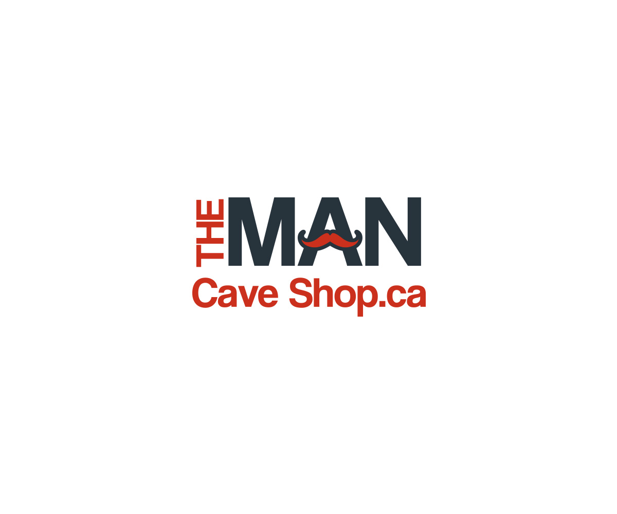 Canada S Man Cave Store Ottawa : Modern masculine business logo design for the man cave