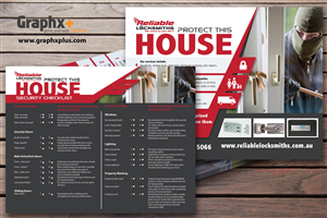 Flyer Design by Graphxplus - Home Security check flyer