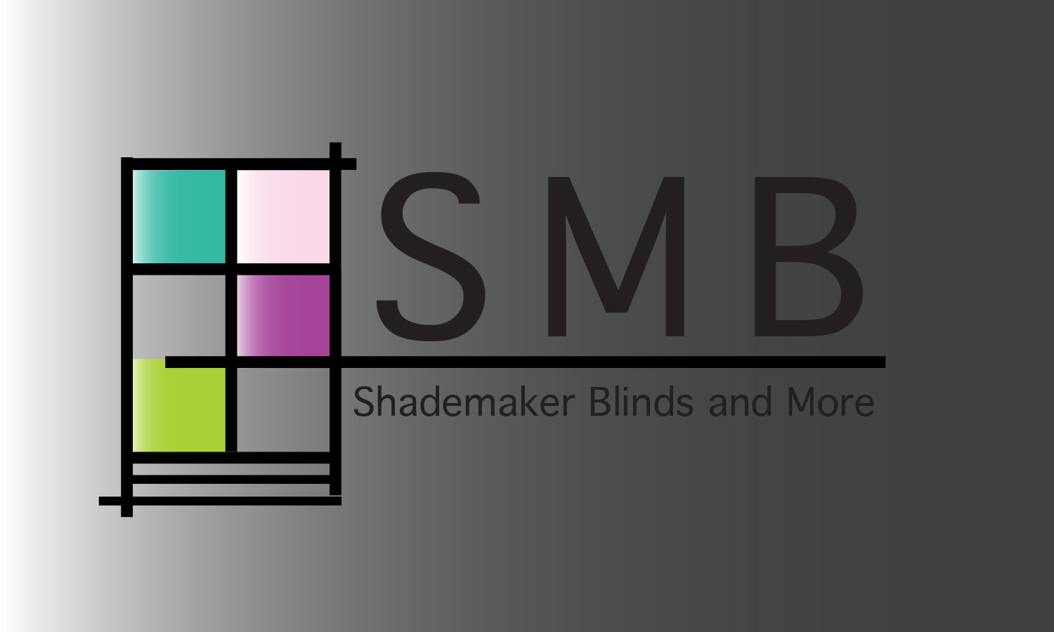 blinds and more shade blinds elegant playful business logo design for shademaker blinds and more in canada 7215336