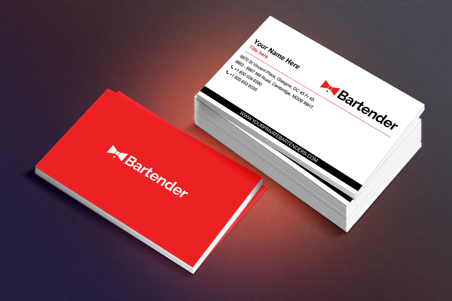 Serious, Modern Business Card Design for Michael Mandeville by ...