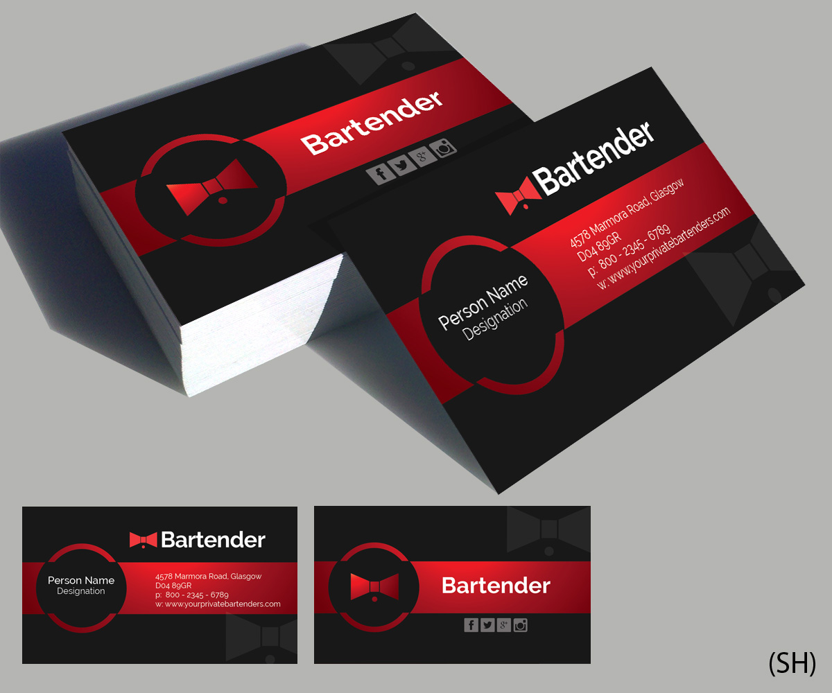 Serious, Modern, Events Business Card Design for a Company by ...