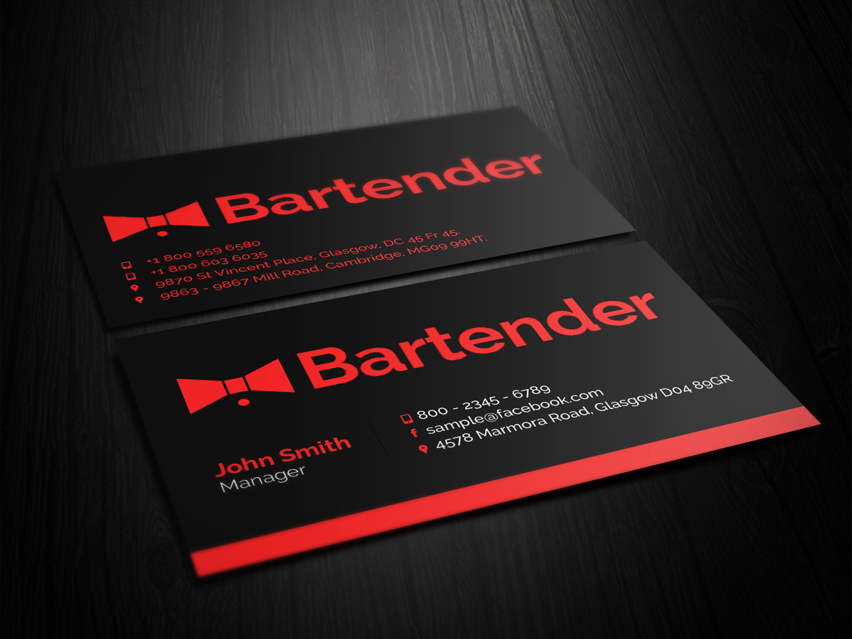 Design De Carte Visite Par Primarydesigner2k9 Pour Ce Projet