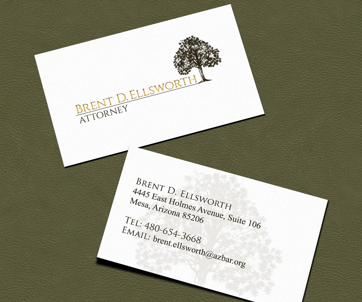 Bold, Modern Business Card Design for Brent Ellsworth by Angelo ...
