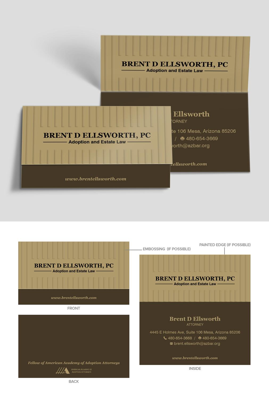 Bold, Modern Business Card Design for Brent Ellsworth by MIND ...