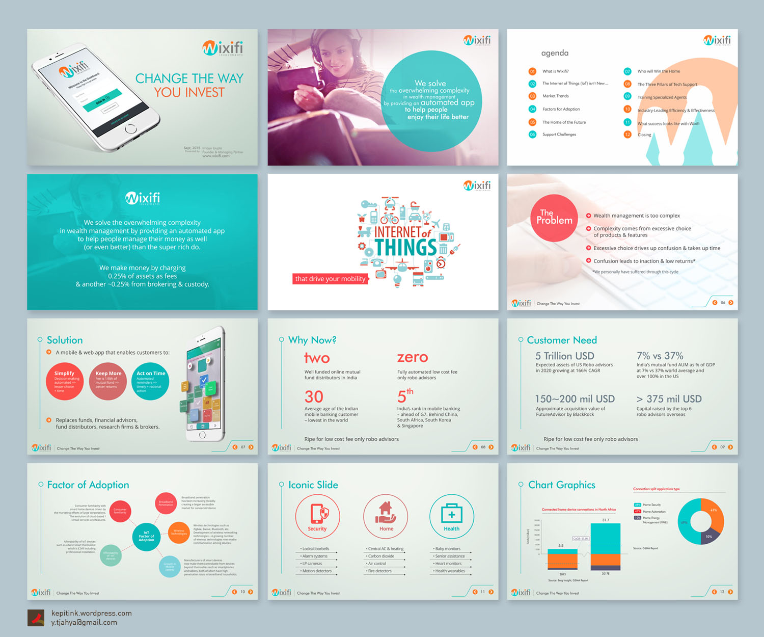 Upmarket bold powerpoint design for ishaan gupta by kepitink powerpoint design by kepitink for powerpoint template presentation design for mobile investment advisory app toneelgroepblik Gallery
