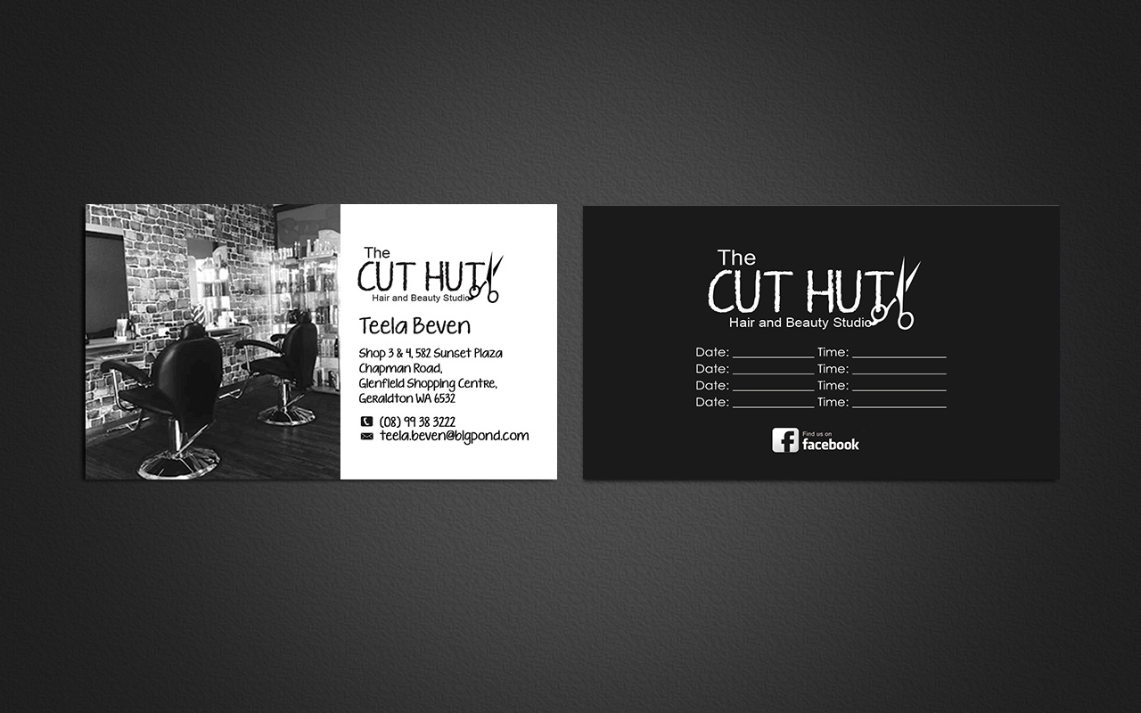 Business Card Design By Gtools For Hair And Beauty Salon