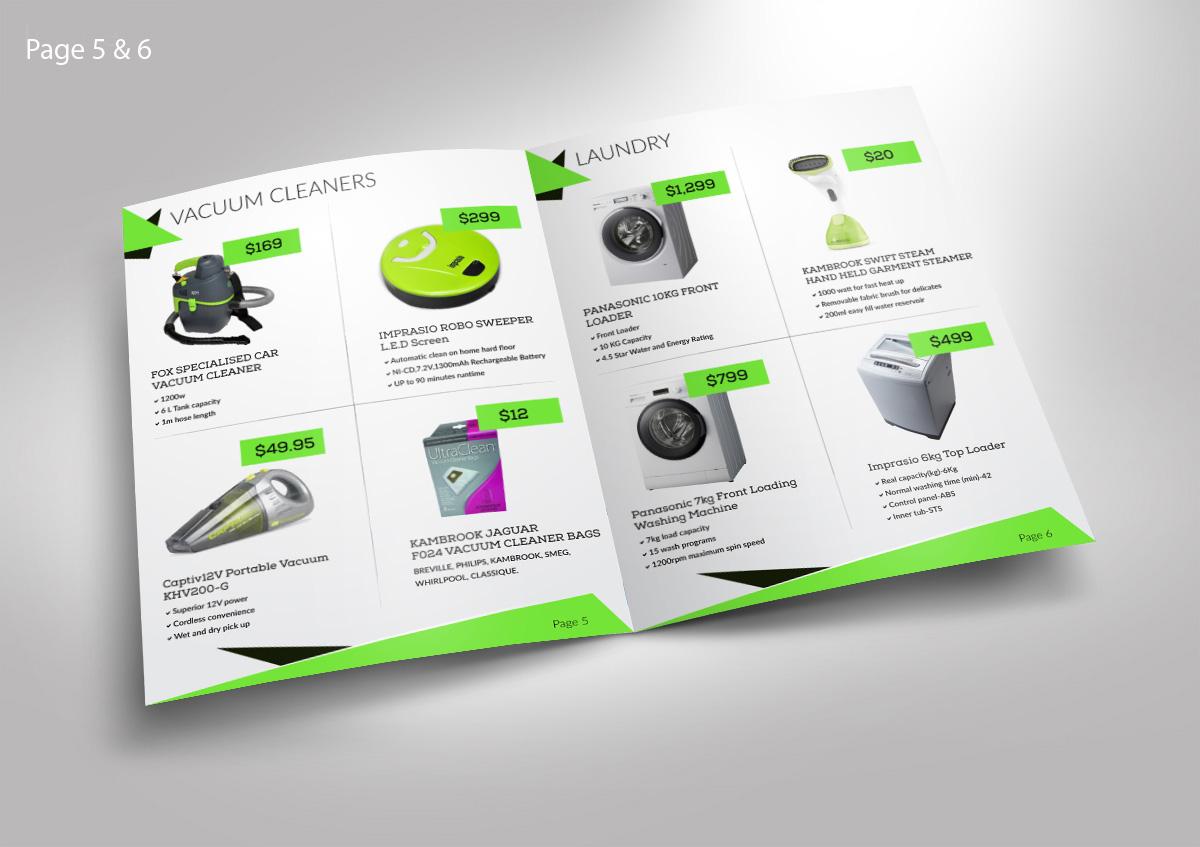 Modern Bunt Retail Katalog Design Für Applianceoutlet Ltd Von