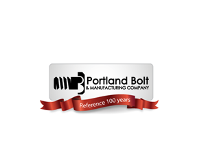 Logo Design job – 100 Year Anniversary Logo for Portland Bolt & Manufacturing Company. We manufacture fasteners in USA – Winning design by WingLee