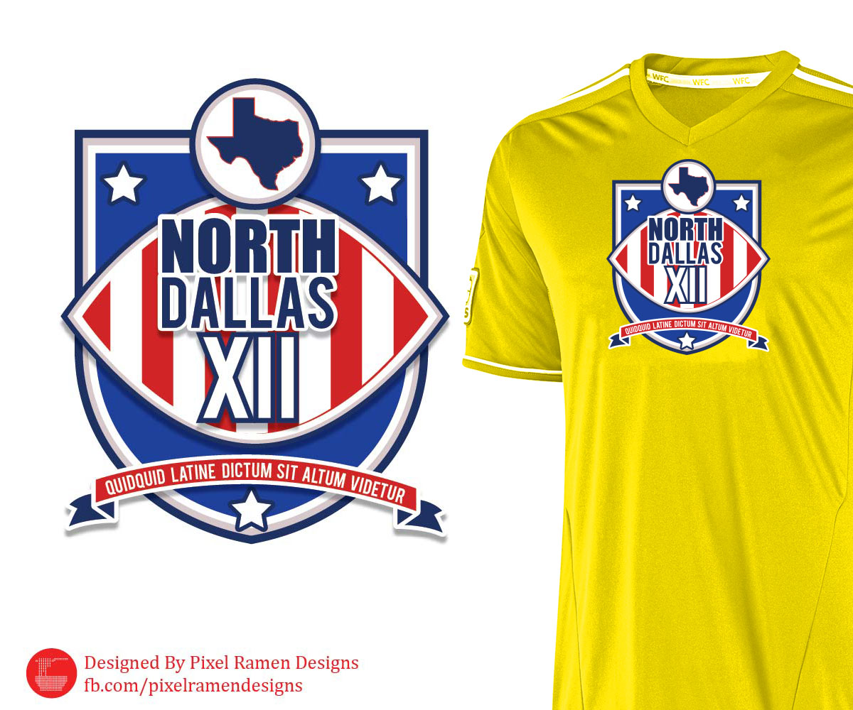 Logo Design for a Sports League Insignia by PixelRamen Designs