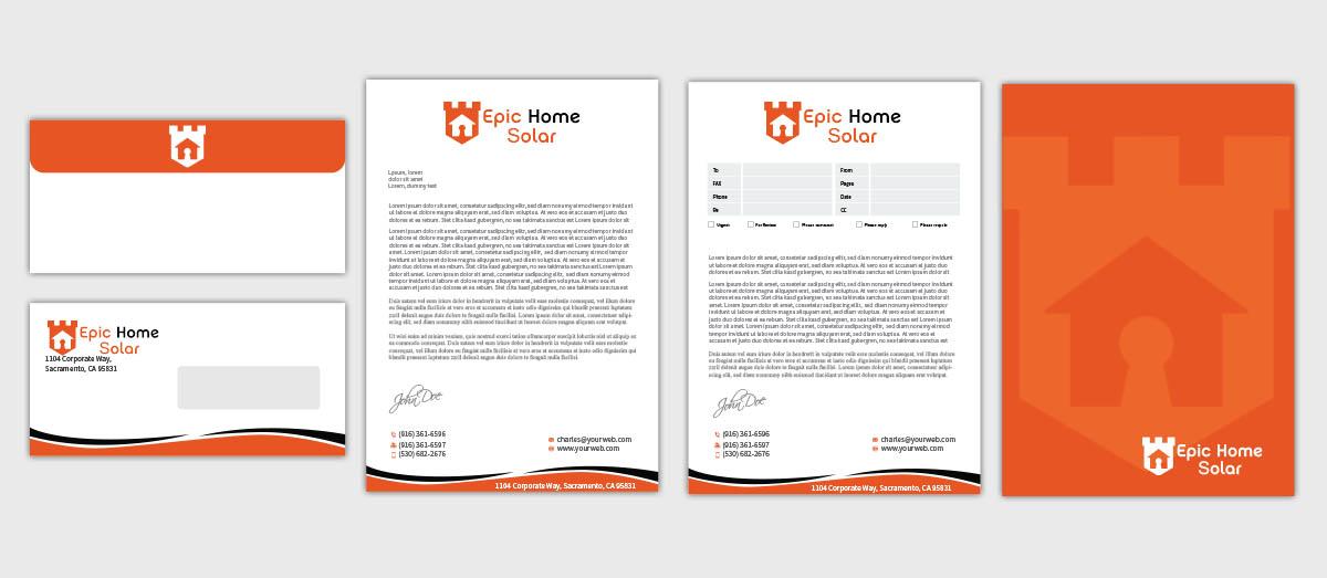 corporate letter design