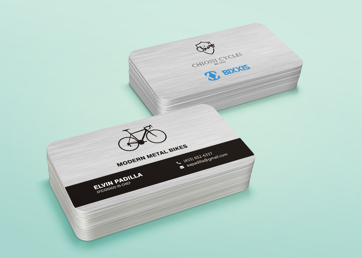 Bold, Playful Business Card Design for Elvin Padilla by Poonam ...