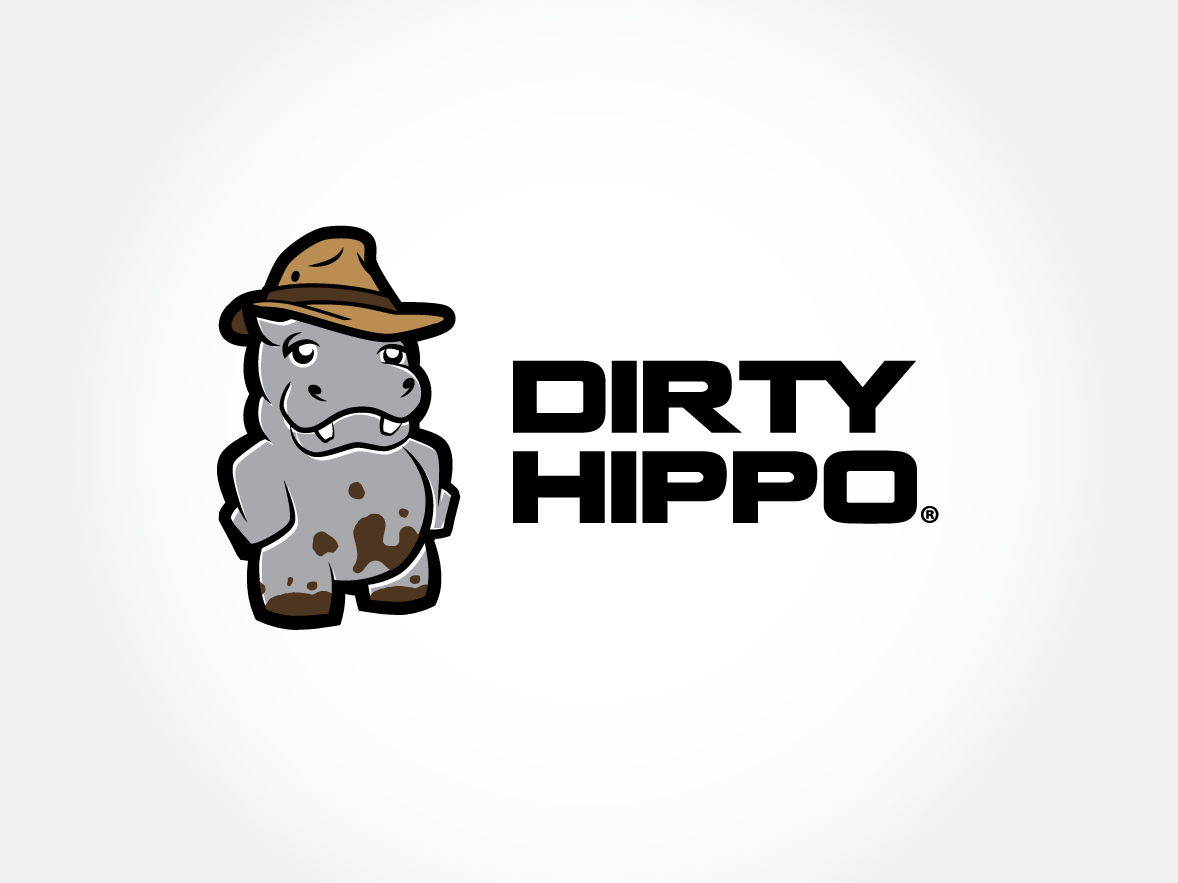 Personable Modern Logo Design For Dirty Hippo By M