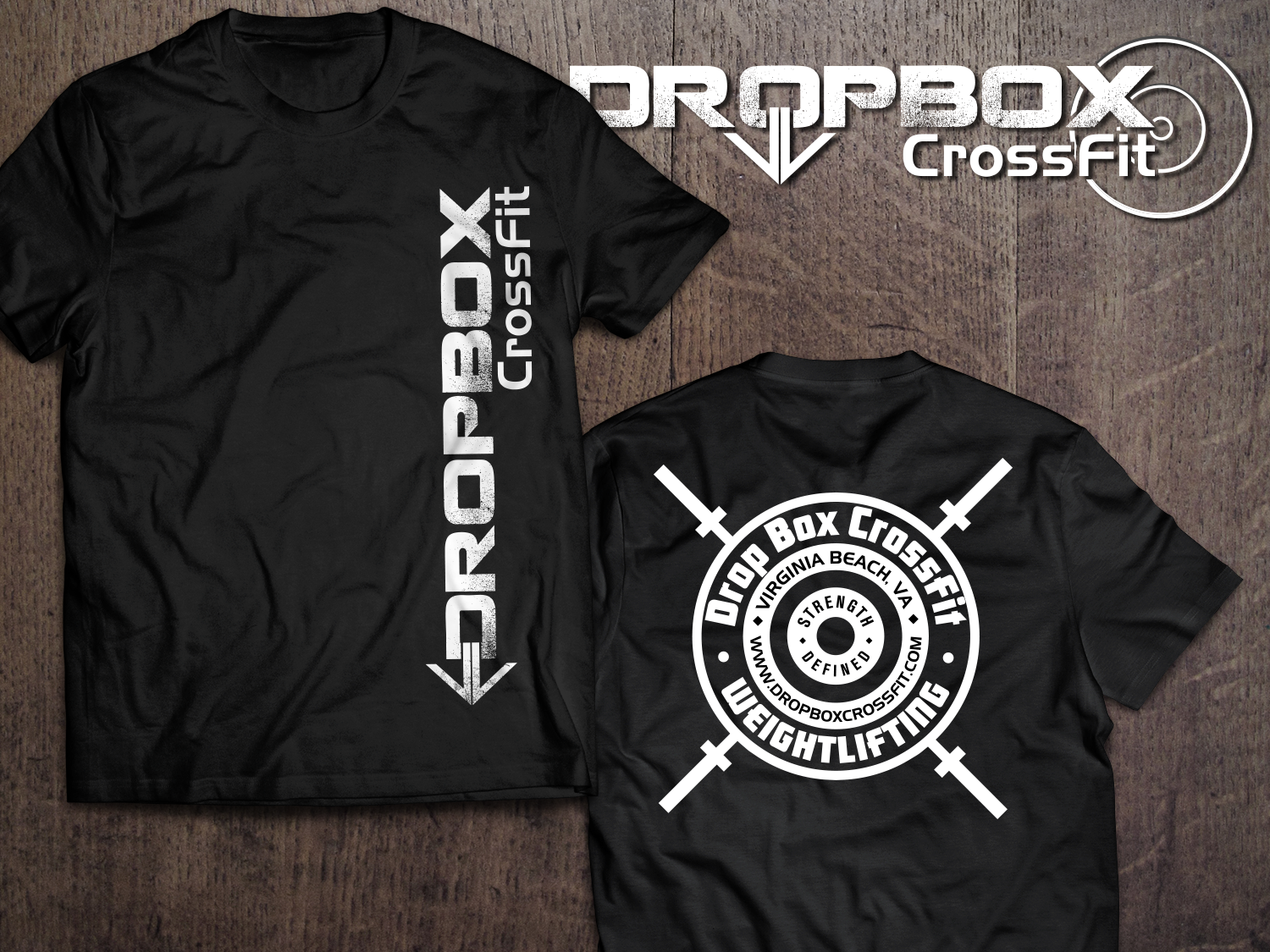 b27271cc3df CrossFit Weightlifting Shirt with Logo | 21 T-shirt Designs for Drop ...