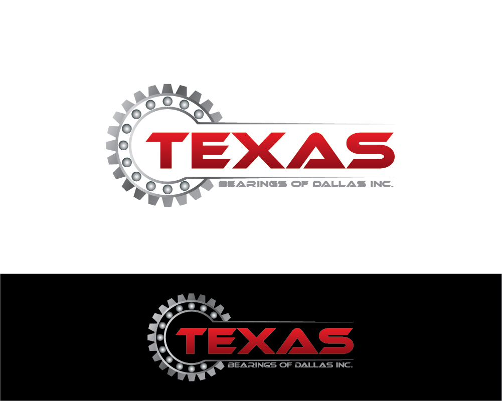 42 bold serious industrial logo designs for texas bearings for Industrial design company