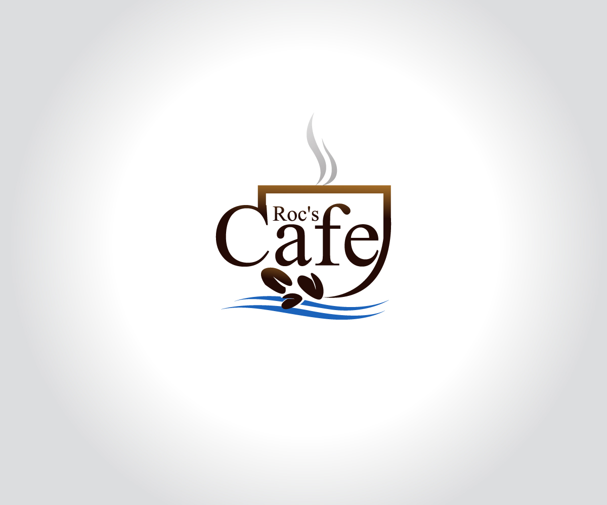 Elegant modern logo design for roc 39 39 39 39 39 39 39 39 s cafe by mb Design a new logo